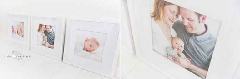 Heirloom framed photos